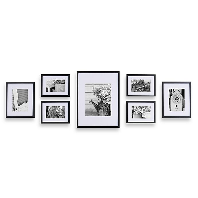 Gallery Perfect 7 Piece Frame Set