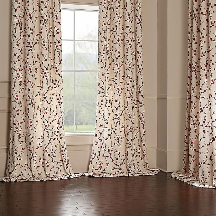 Alternate image 1 for Blossom Window Curtain Panel Collection