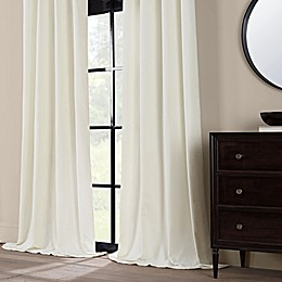 Chenille Window Curtain Panel Collection
