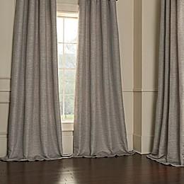Classic Herringbone Window Curtain Panel Collection