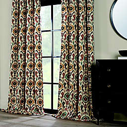 Holiday Ikat Window Curtain Panel Collection