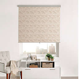 Brielle Distressed Jacquard Roller Shade