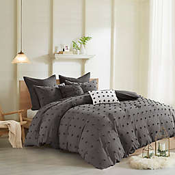 Urban Habitat Brooklyn Cotton Jacquard 7-Piece Duvet Cover Set