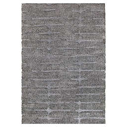 O&O by Olivia & Oliver™ Milo 3' x 4' Accent Rug in Grey