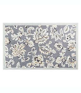Home Dynamix Westwood Tapete decorativo con diseño floral, 50.03 x 80.01 cm en gris oscuro