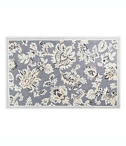 Home Dynamix Westwood Tapete decorativo con diseño floral, 70.1 cm x 1.09 m en gris oscuro