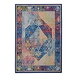 Nourison Global Vintage Stained Glass Rug