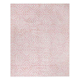 VCNY Home Rowan High Low 5' x 7' Area Rug in Ivory/Pink