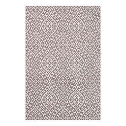 VCNY Home Rowan High Low 5' x 7' Area Rug in Ivory/Grey
