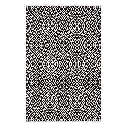 VCNY Home Rowan High Low 8' x 10' Area Rug in Ivory/Black