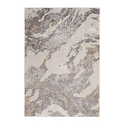 Nourison Sleek Textures Wave Area Rug