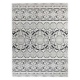 VCNY Home™ Zuri Damask 8' x 10' Area Rug in Ivory/Grey