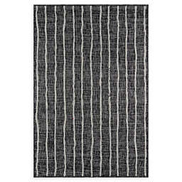 Novogratz by Momeni® Sicily 9'3 x 12'6 Indoor/Outdoor Area Rug in Charcoal