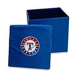 Texas Rangers Collapsible Storage Ottoman
