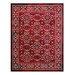 VCNY Home Evelyn Area Rug in Red