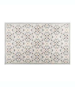 Home Dynamix Westwood Tapete decorativo con diseño floral, 50.03 x 80.01 cm en gris