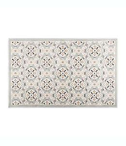 Home Dynamix Westwood Tapete decorativo con diseño floral, 71.12 cm x 1.09 m en gris