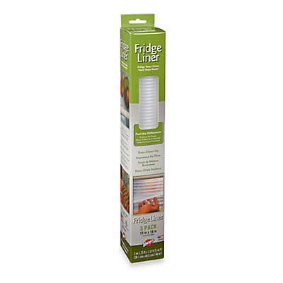 Warp Brothers® Non-Adhesive Fridge Liners™ 3-Piece Set