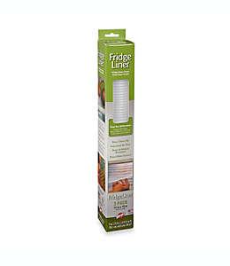 Forro no adhesivo para refrigerador de plástico Warp Brothers® Non-Adhesive Fridge Liners™, Set de 3