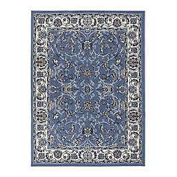 Home Dynamix Premium Muse 2' x 3' Area Rug in Blue/Ivory