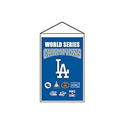 MLB Los Angeles Dodgers 2020 World Series Champions Banner