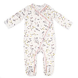 Jessica Simpson Floral Footie in Ivory
