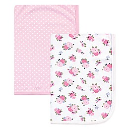 Luvable Friends® 2-Pack Swaddle Blankets in Pink