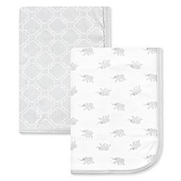 Luvable Friends® 2-Pack Cotton Swaddles