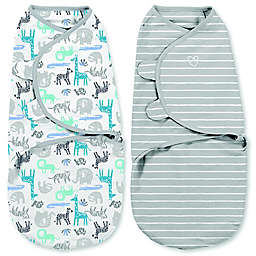 SwaddleMe® Small 2-Pack It's Zoo Cute Organic Cotton Swaddles
