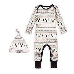 Burt's Bees Baby® 2-Piece Tree Organic Cotton Coverall and Hat Set