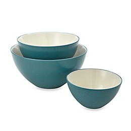 Noritake® Colorwave 3-Piece Bowl Set in Turquoise