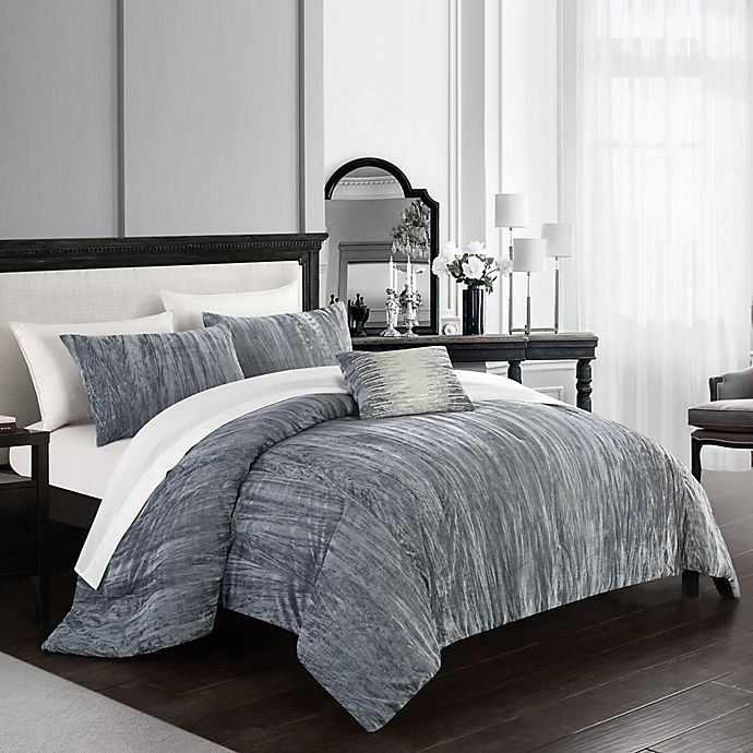 Alternate image 1 for Chic Home© Merieta 8-Piece Comforter Set