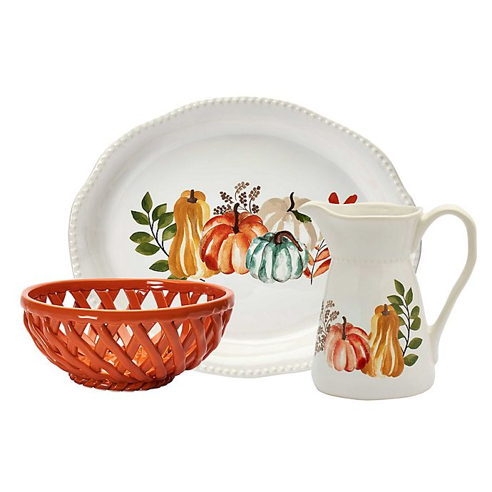 Alternate image 1 for Modern Farmhouse Home Harvest Serveware Collection