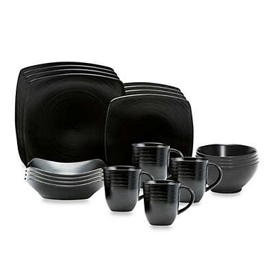 Red Vanilla Black Rice 20-Piece Dinnerware Set