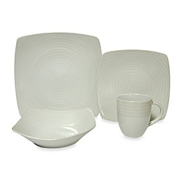 Red Vanilla White Rice 20-Piece Dinnerware Set