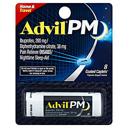 Advil® PM 8-Count Pain Reliever and Nighttime Sleep-Aid Caplets