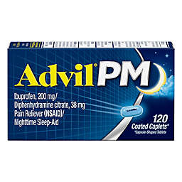 Advil® PM 120-Count Pain Reliever and Nighttime Sleep-Aid Caplets