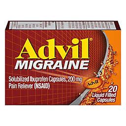 Advil® Migraine 20-Count Pain Reliever Capsules