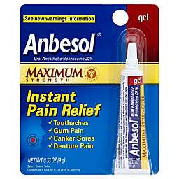 Anbesol® Maximum Strength 0.33 oz. Oral Anesthetic Gel