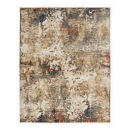 Theory Sand Tones 8' x 10' Hand Knotted Multicolor Area Rug in Brown