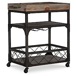 Powell Shotwell Driftwood Bar Cart