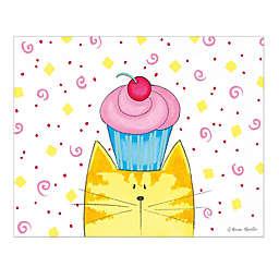 Courtside Market Kittycorn Cupcake Canvas Wall Art
