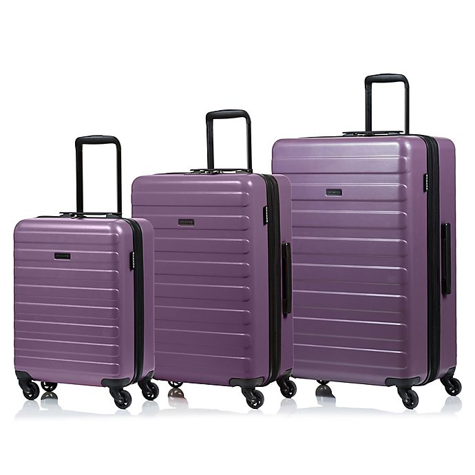 Alternate image 1 for CHAMPS Fire 3-Piece Hardside Spinner Luggage Set