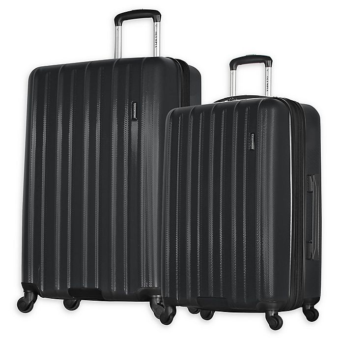 Alternate image 1 for Olympia® USA Raven Expandable Spinner Luggage