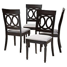 Baxton Studio® Christa Dining Chairs (Set of 4)