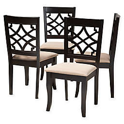 Baxton Studio® Nevil Dining Chairs (Set of 4)
