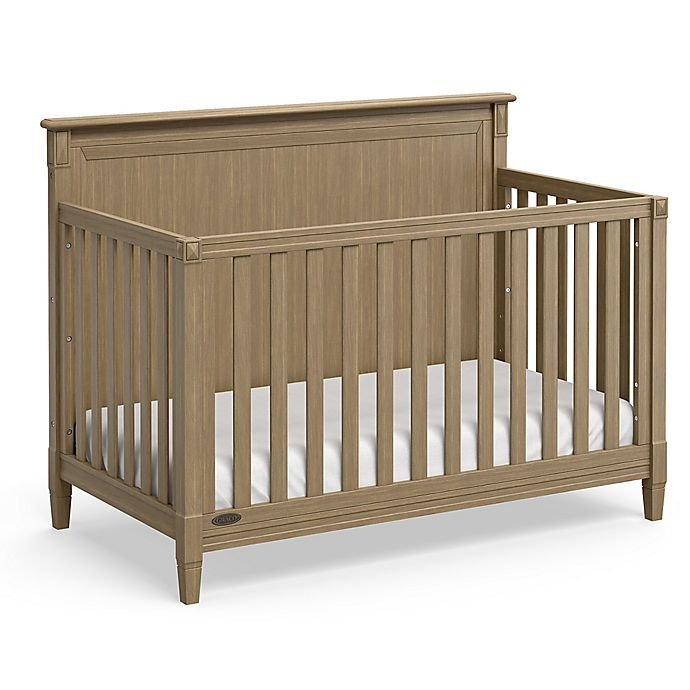 Alternate image 1 for Graco® Aria 4-in-1 Convertible Crib