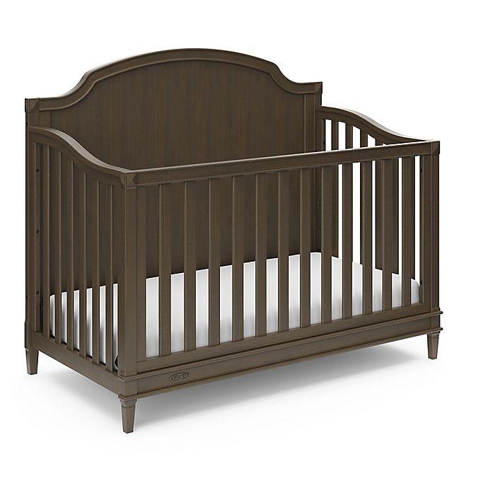 Alternate image 1 for Graco® Alicia 4-in-1 Convertible Crib
