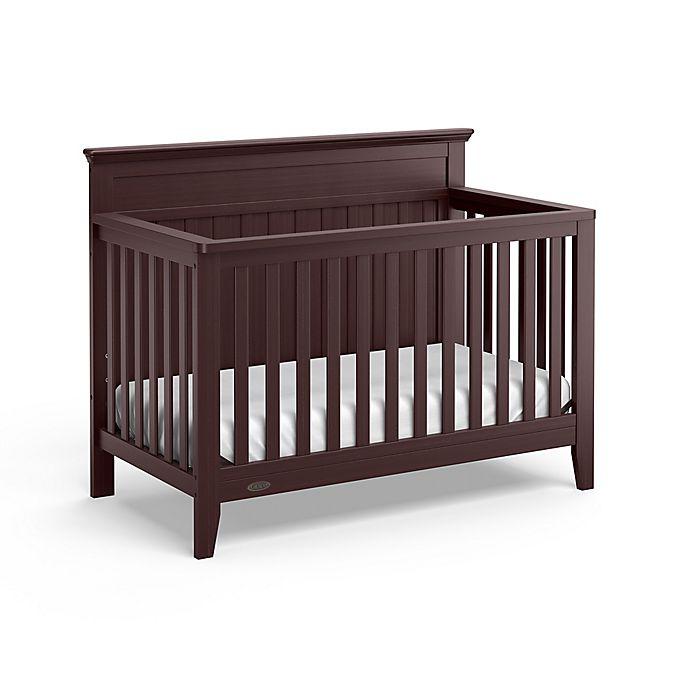 Alternate image 1 for Graco® Georgia 4-in-1 Convertible Crib