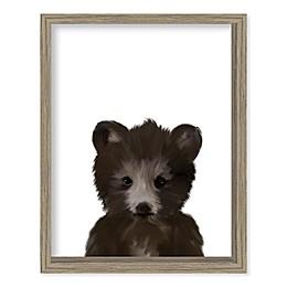 Boston Warehouse® Baby Bear 12-Inch x 15-Inch Framed Wall Art